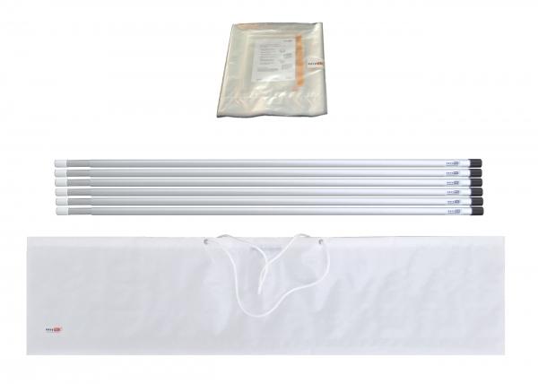 Staubschutzwand solidWALL Set 6,0 x 2,7 m Vorhangtür