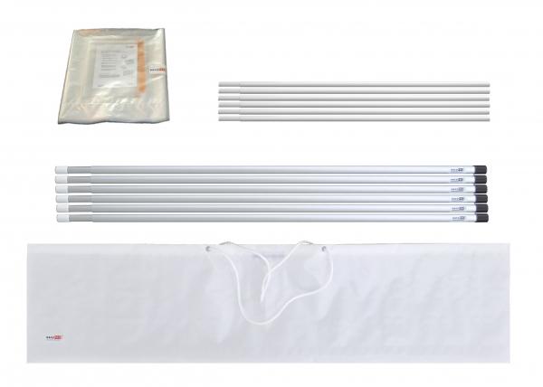 Staubschutzwand Set easyWALL 6,0 x 3,7 m mit Vorhangtür