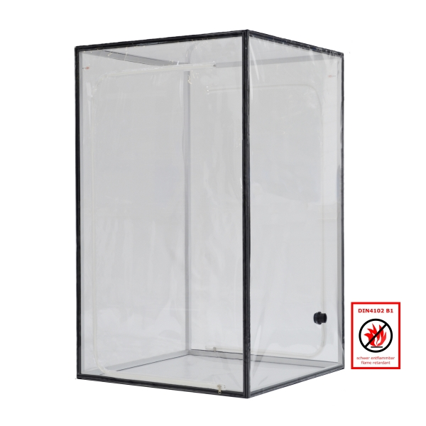 Ein Kammer Schleuse Typ C transparent schwer entflammbar