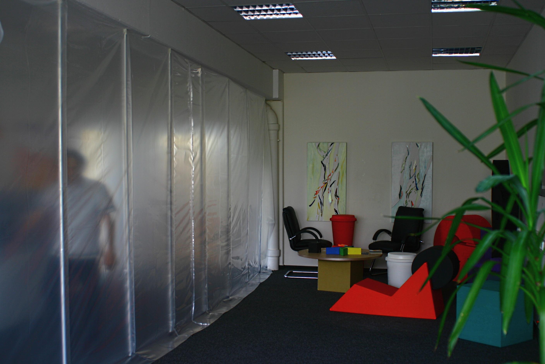 easyTEC Staubschutzwand
