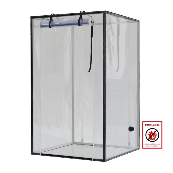 Ein Kammer Schleuse Typ H transparent schwer entflammbar