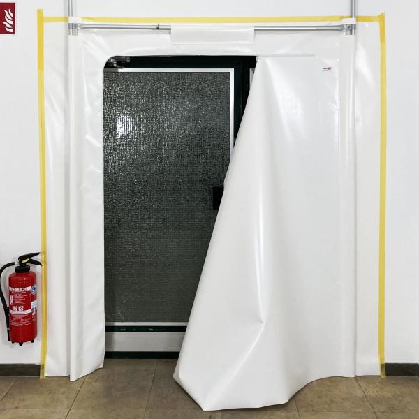 Staubschutztür RVT-B PVC 2,20 x 2,20 m