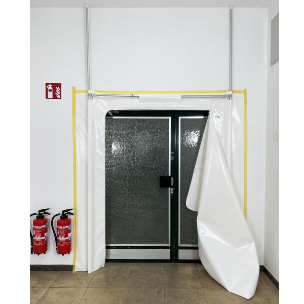 Staubschutztür RVT-B PVC Set 2,20 x 2,20 m