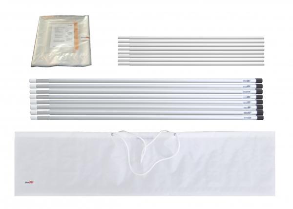 Staubschutzwand solidWALL Set 8,0 x 3,7 m Vorhangtür